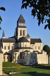 Une vue de l'Abbaye de Fontenay